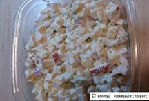 receptek saláták