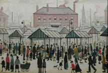 INSPIRATION | MANCHESTER / L S  Lowry - was an English artist born in Old Trafford. Many of his drawings and paintings depict Pendlebury, and Salford and its surrounding areas. The Suffragette movement  Alan Turing