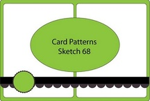 Card sketches and samples / by Kathie Maltby