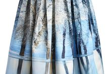 Digital Print Inspiration / Looking at amazing digital prints on fabric