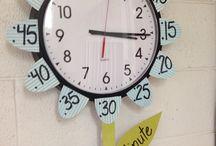 Pynt til klasserommet / Klokke