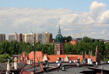 Panoramy Chorzowa / Miasto widziane z wieży zegarowej Urzędu Miasta :)
