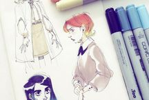 Copic draws