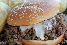 Ground meat (Turkey, chicken, beef, pork)  recipes / by Sherie Converse