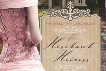 The Everstone Chronicles Book Tour Board / A board for all of your Everstone Chronicles--The Hesitant Heiress, The Bound Heart, and The Captive Imposter--book reviews.