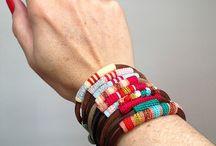 Fibre jewelry