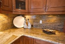 Kitchen Countertops / Hari Stones is your source for natural stone for kitchen countertops in Vancouver, Surrey, Edmonton, Kelowna, and beyond. We provide premium quality slabs for granite kitchen countertops with impeccable service and close attention to detail.