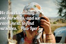 TRAVEL QUOTES | inspiration / Lots of travel inspiration right here!