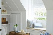 dormer room ideas / by inspired (vintage.home.design)