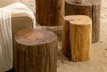 Blocs de bois