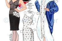 Miss Fisher & Paper Dolls