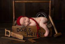 newborn picture ideas / by Megan Gagnon