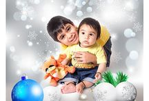 Christmas and New Year's Photos / family, couples and kids photography for holiday greeting cards