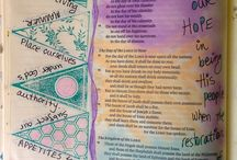 *Obadiah-Bible Journaling / Bible Journaling examples from the book of Obadiah