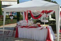Στολισμός γάμου τραπέζι