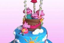 peppa pig / torte decorate in pdz con la simpatica peppa pig