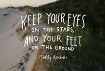 Best Foot Forward / Motivational quotes to help you put your best foot forward!