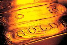 GLORIOUS GOLD / by Cheryl Schoenfelder