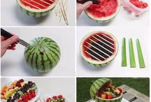 Watermelon / Watermelon with fruits