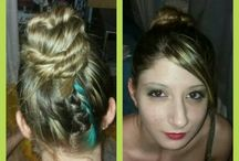 Capelli Hair / Hairstyle fatti da me / Hairstyle made by me :)