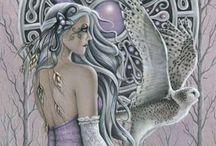 Goddesses / The Divine Feminine as worshipped around the world.