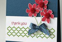 thank you cards / by Kathy Dzelzkalns