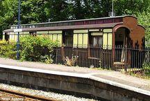 Train carriage conversion
