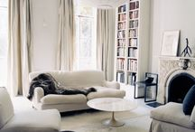 Greige Interiors / Eternally chic, the perfect hue, cool, inviting, timeless… Explore our favorite greige rooms. What you'll find: neutral colors, decorating with grey, white rooms, living room ideas, bedroom ideas, kitchens, sheepskins, decorating with texture & more. / by DwellStudio