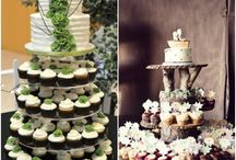 Cakes and cupcakes / wedding ideas