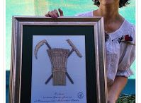 Koralikowy haft na kanwie