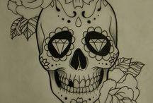 """Projeto """"La Santa Muerte Tattoo"""""""