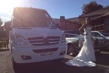 Wedding Transport for Large Bridal Parties / Executive Minibus available for Wedding Hire - Cheaper than hiring more than one wedding car.