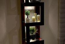 muebles decoracion con bonsais