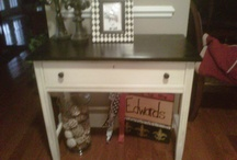 My painted furniture