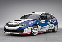 Subaru Czech Duck Racing Team - Vojtěch Štajf (Subaru Impreza Sti) / Design for season 2013.