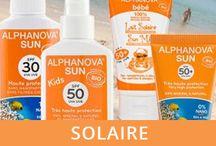 Alphanova Sun - solaires bio / Des cosmétique solaires bio sans nano, sans perturbateurs endocriniens, sans oxyde de zinc. Des solaires pour toute la famille. Suncare organic products without nanoparticles, neither endocrine disruptor
