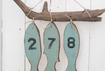 wood fish decoration