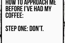 Coffee now.