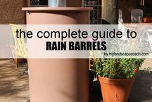 Rain Barrel_water conservation