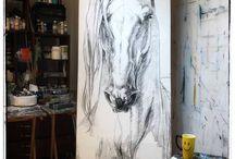 Equine Art  Pinspiration