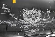 Graffiti: Chalked