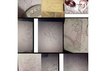My Art Work  / #Art #Dawing #DarkDisney