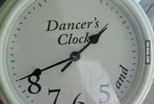 Dancer's clock