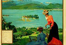 Cartoline vintage lago maggiore