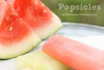 Popsicles / Homemade Popsicle recipes