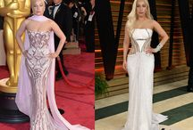 Oscars Fashion: Red Carpet vs. Afterparty / Which look is the winner?