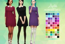 Sims look