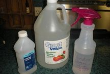 Homemade cleaners / Household products
