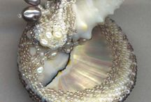 Beautiful works with shells / beautiful works with shells found on the net