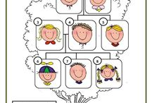 Worksheets English, Family